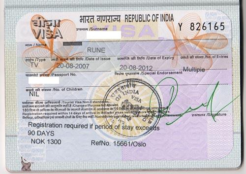 Foreigners working in India: Visa, entry permit and tax registrations