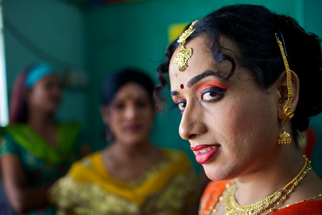 Transgenders live on the fringes of the Indian society
