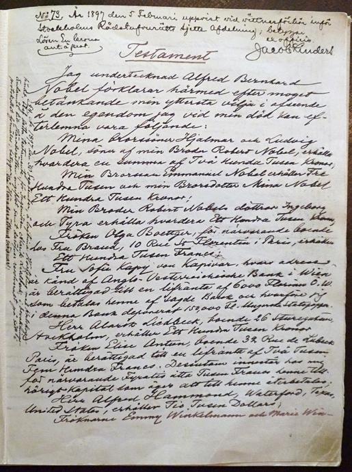 alfred nobel research papers Biography term papers term papers (paper 11823) on alfred nobel: alfred nobel alfred nobel was born in stockholm, sweden on october 21, 1833(encarta) his.