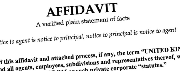 Affidavit and the law in India iPleaders