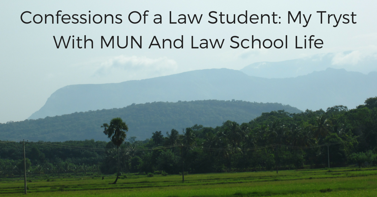 Confessions Of a Law Student