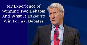 My Experience of Winning Two Debates And What It Takes To Win Formal Debates