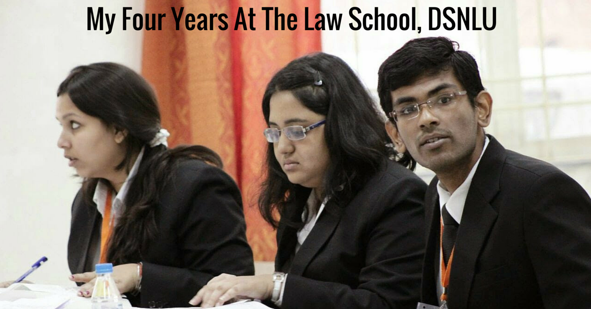 My Four Years At The Law School, DSNLU.