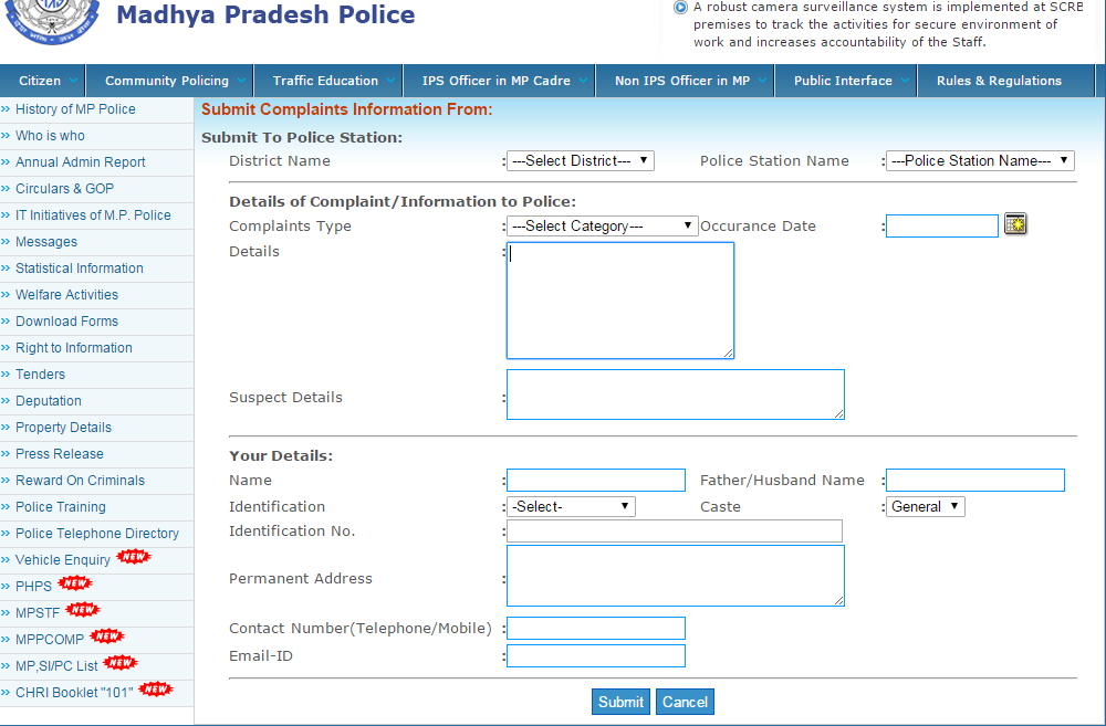 How To File Online FIR And Criminal Complaints - iPleaders