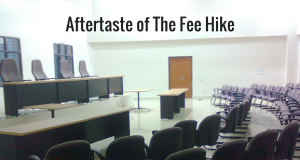How does fee hike affect a college student?