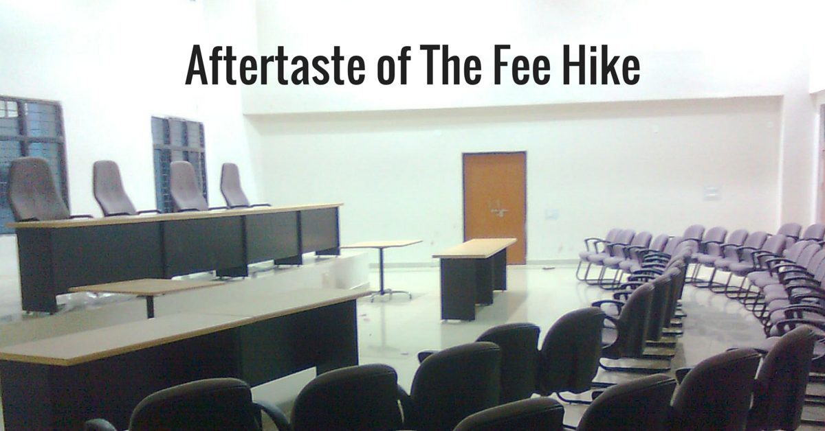 Aftertaste of The Fee Hike