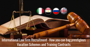 International Law Firm Recruitment - How you can bag prestigious Vacation Schemes and Training Contracts