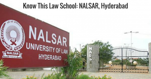 Know this Law School: NALSAR