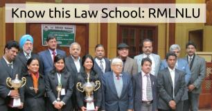 Know this Law School: RMLNLU