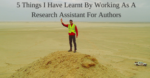 5 Things I Have Learnt By Working As A Research Assistant For Authors