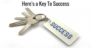 Here's a Key To Success