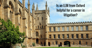 Is an LLM from Oxford helpful for a career in litigation?