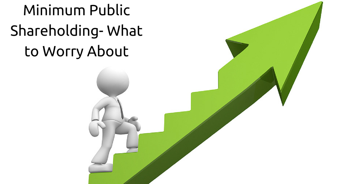 Minimum Public Shareholding- What to Worry About