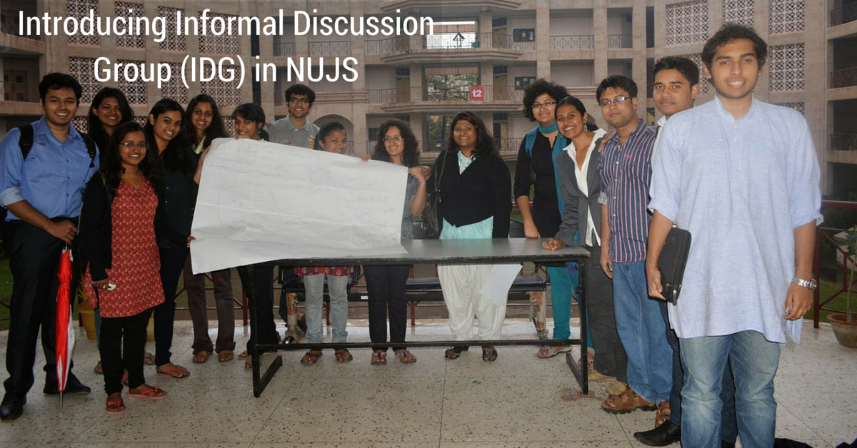 (repetition) Introducing Informal Discussion Group (IDG) in NUJS