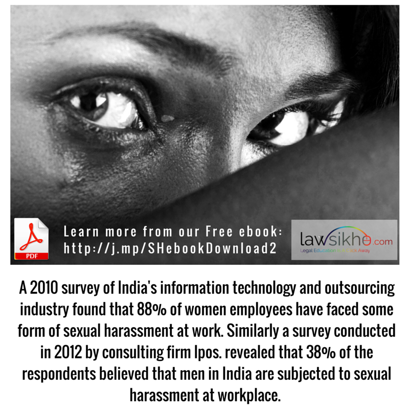 sexual harassment in india In india, the case of vishakha to force the victim to endure or participate in the sexual conduct sexual harassment may culminate in a retaliatory discharge if a.