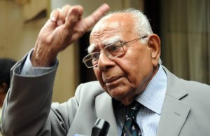 Renowned Lawyer Ram Jethmalani