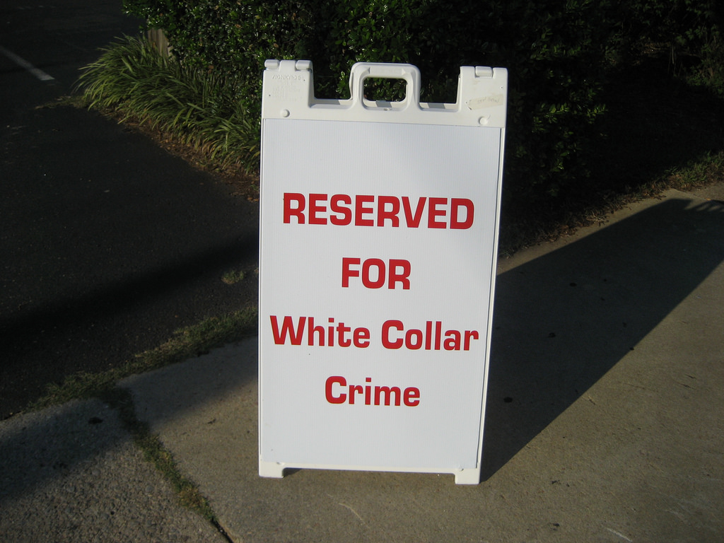 white collar crime crime Free white collar crime papers, essays, and research papers.