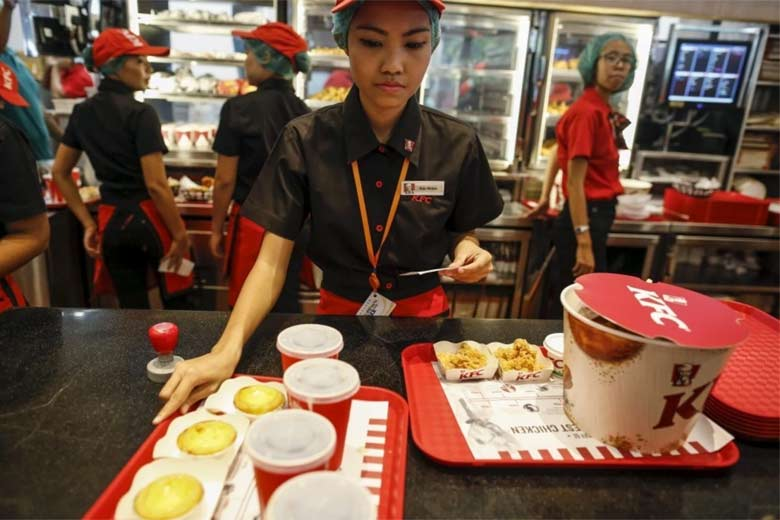 kfc service quality Kfc offers a limited delivery service in a small such as a lack of quality suppliers asia kfc continues the kentucky fried chicken advertising co.