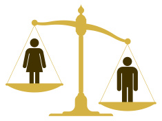 stock-illustration-33872414-unbalanced-scale-with-a-man-and-woman