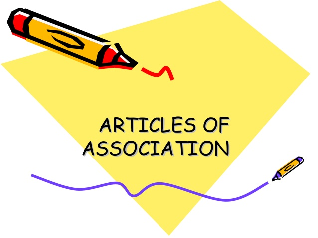 What Is The Content For The Articles of Association - iPleaders