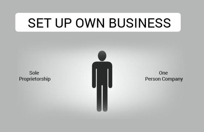 Sole Proprietorship or One Person Company