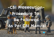 CBI Prosecution- Procedure To Be Followed