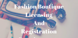 Fashion Boutique Licensing And Registration Requirements: