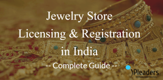 jewelry store licensing and registration in india