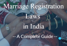 marriage registration laws in India