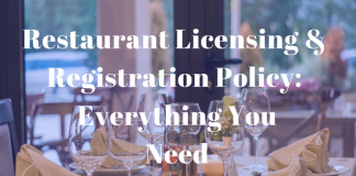 Restaurant Licensing & Registration Policy