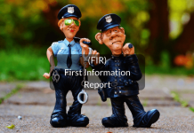 FIR- first information report