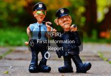 FIR- first information report