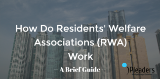 Powers and functions of resident welfare associations