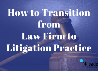 Law Firm to Litigation Practice