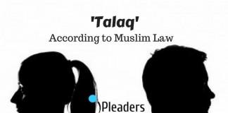 Talaq by Muslim Men