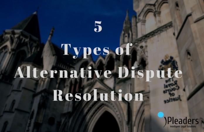 alternative dispute resolution, out of court settlement