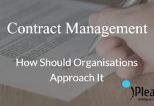 Contract Management and organisational approach