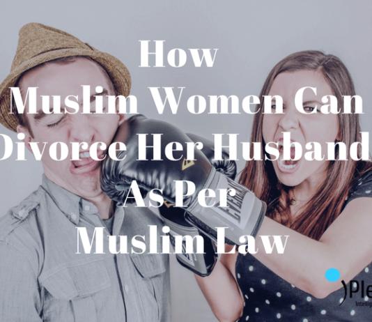 divorce for women under muslim law