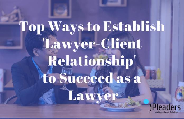 establishing lawyer-client relationship