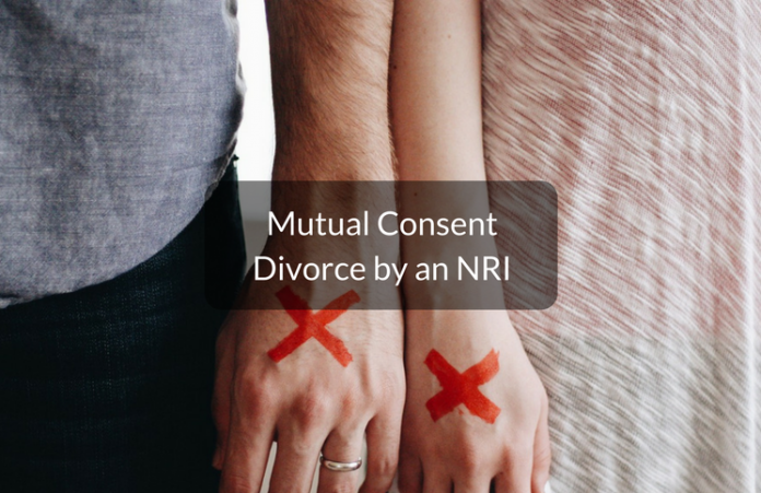 mutual consent divorce by NRI