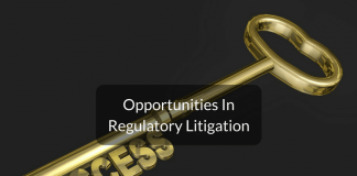 career in regulatory litigation