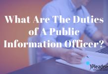 Duties of A Public Information Officer