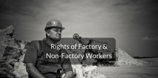 rights of factory & non-factory workers
