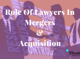 role of lawyer in mergers & acquisition