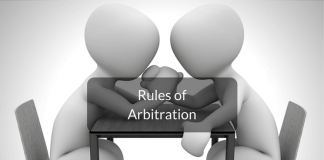 rules of arbitration in India