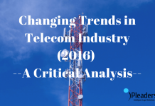 Changing Trends in Telecom sector in 2016)