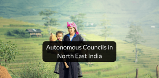 Autonomous council of North East India