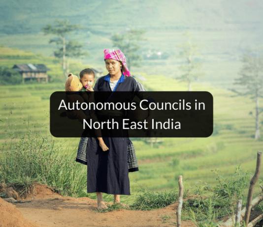 Autonomous council of North East India