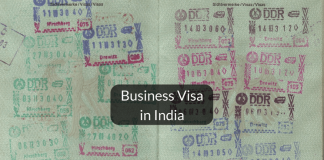 Business visa in India