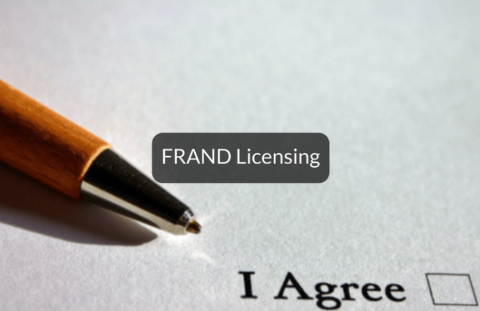 FRAND Licensing in India